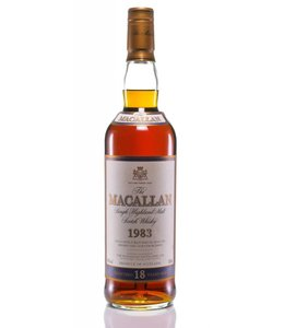Macallan The Macallan 18 Year Old Single Malt Highland Scotch Whisky 1983