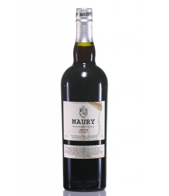 Maury Wine 1929 Maury