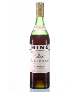 Hine & Co T. Cognac 1904 Hine Grand Champagne Jarnac aged