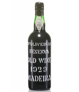D'Oliveiras Madeira 1929 D'Oliveiras Reserva Old Wine