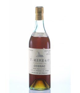 Hine & Co T. Cognac 1943 Hine Grande Champagne Landed