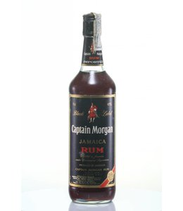 Captain Morgan Captain Morgan Black '80s Bottling