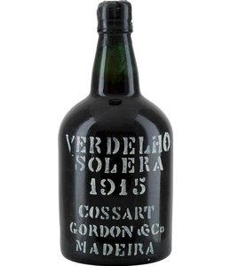 Cossart Gordon & Co Madeira 1915 Cossart Gordon & Co Solera