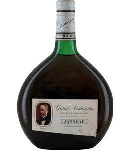 Janneau Fils et Cie Armagnac Janneau Grand Armagnac Hors D'Age Reserve Du Fondateur