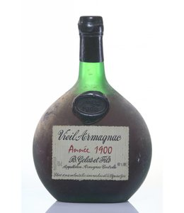 Gelas & Fils B. Armagnac 1900 Gelas & Fils