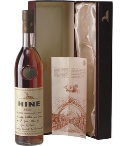 Hine & Co T. Cognac 1933 Hine Grand Champagne Jarnac aged