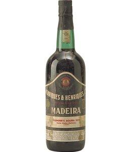 Henriques & Henriques Madeira 1894 Henriques & Henriques Malmsey Solera