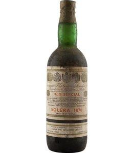 Tarquinia T. Da Camara Madeira 1870 Tarquinia  Sercial Solera