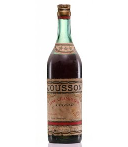 chateau jousson Cognac 1950 Château Jousson Three Star