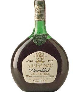 Damblat Armagnac 1920 Damblat