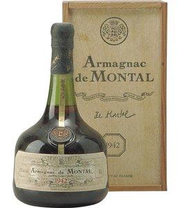 De Montal Armagnac 1942 De Montal