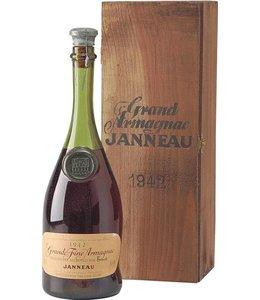 Janneau Fils et Cie Armagnac 1942 Janneau Millesime