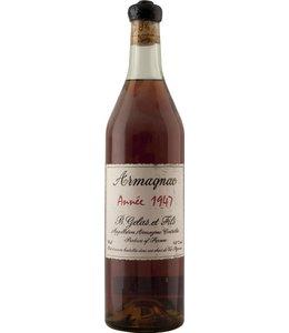 Gelas & Fils B. Armagnac 1947 Gelas & Fils B.