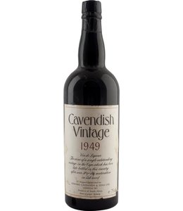 Cavendish Wine 1949 Cavendish