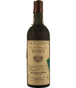 Taylor Fladgate & Yeatman Taylor Fladgate 40 Year Old Tawny Bottled 1972