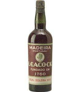 Leacock's Madeira 1870 Leacock's Bual Solera