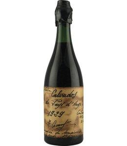 Camut Calvados 1929 Camut Handwritten label