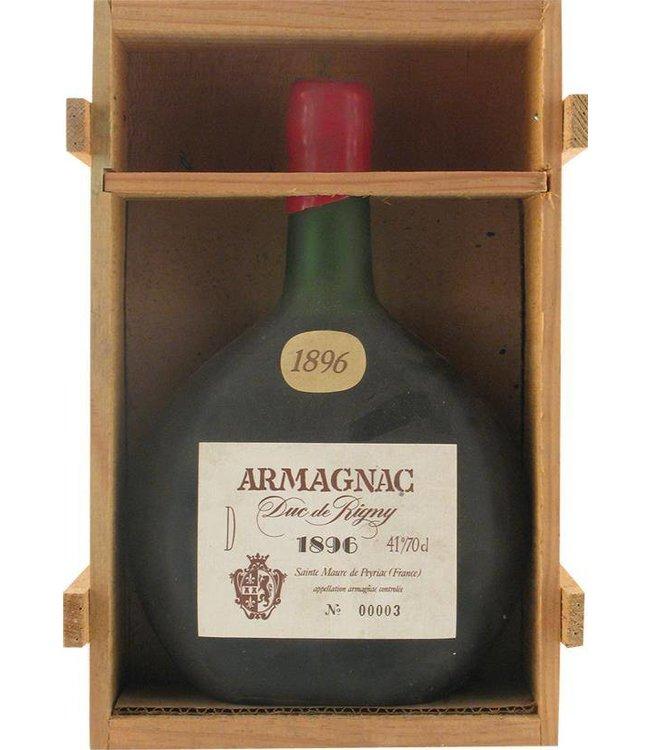 Due de Rigny Armagnac 1896 Due de Rigny