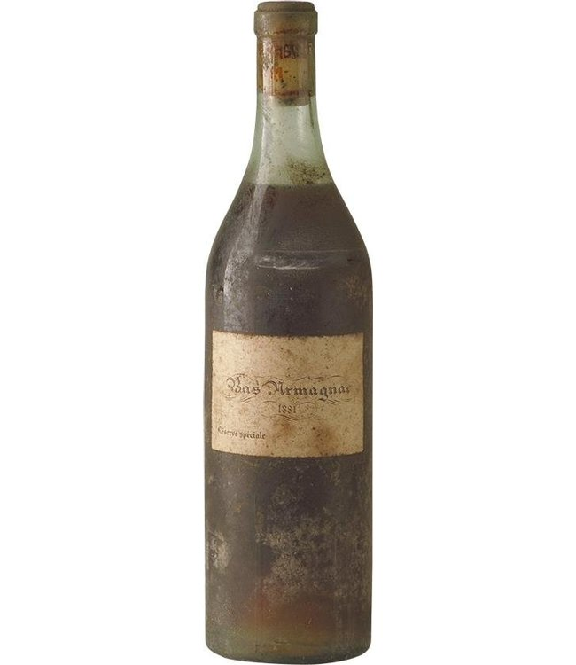 (Unspecified) Armagnac 1881 Brand unknown