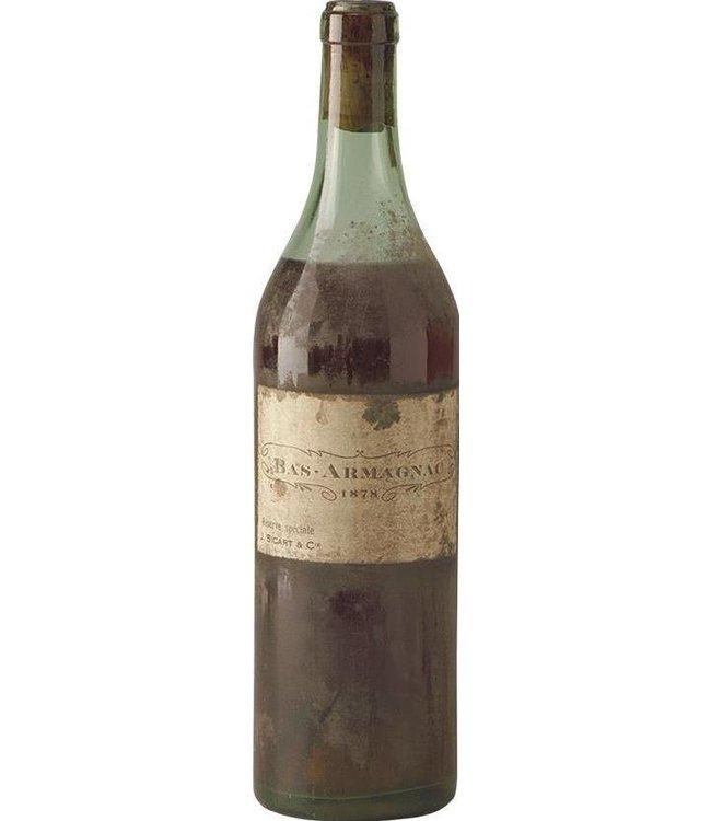 Sicart & Cie J. Armagnac 1878 Sicart & Cie J.