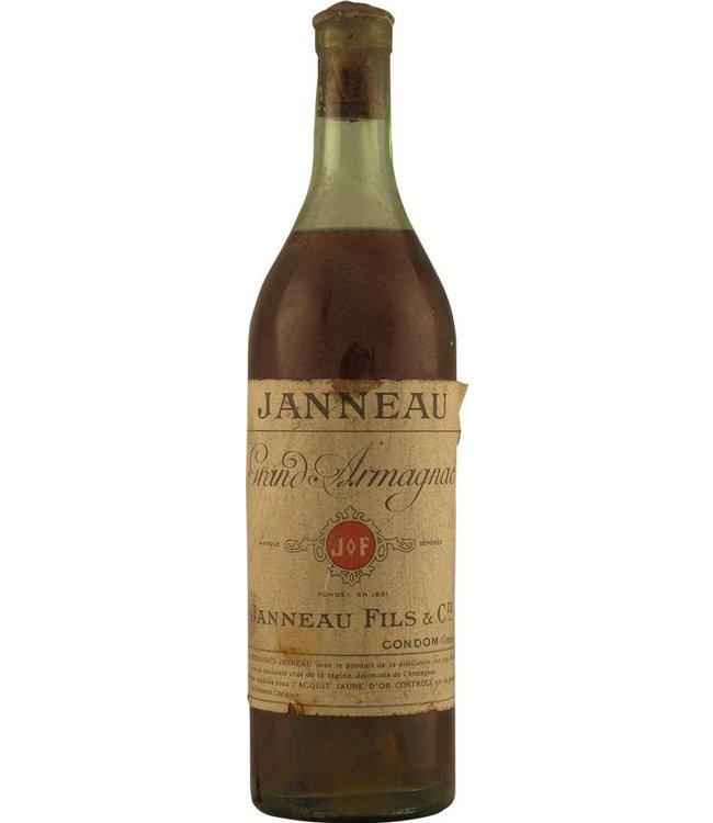 Janneau Fils et Cie Armagnac Janneau Grand Armagnac 1920s
