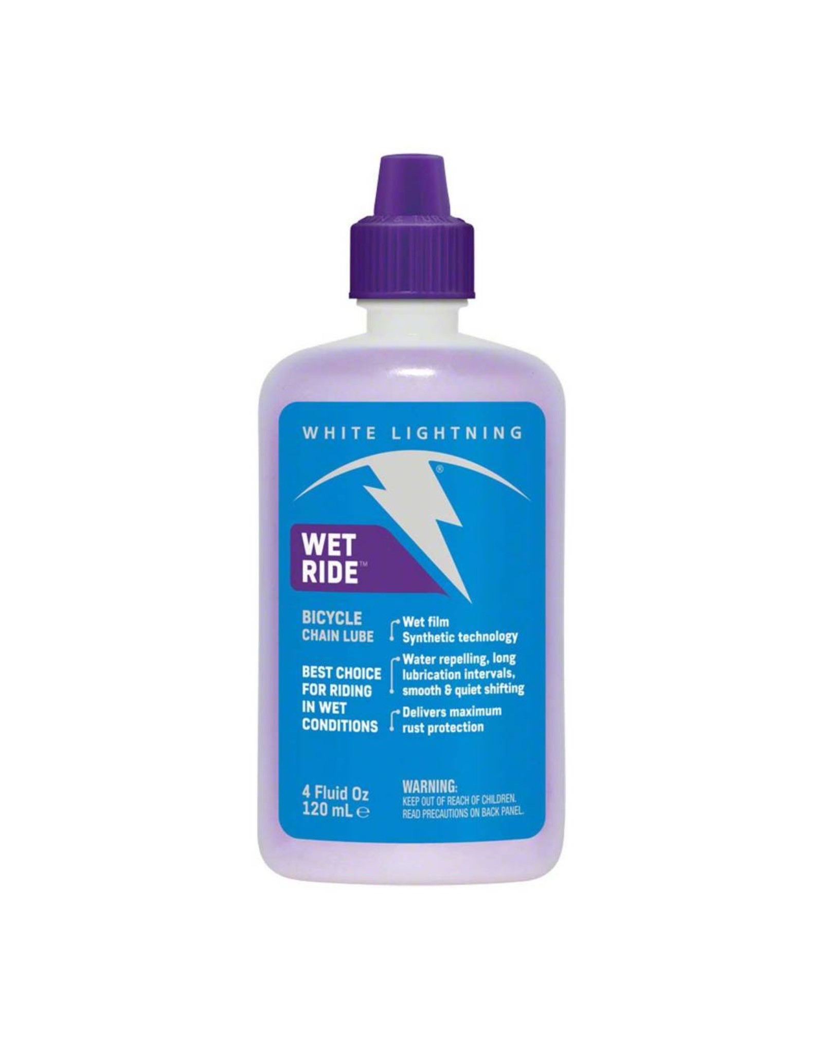 WHITE LIGHTNING LUBE WET RIDE 4oz BOTTLE