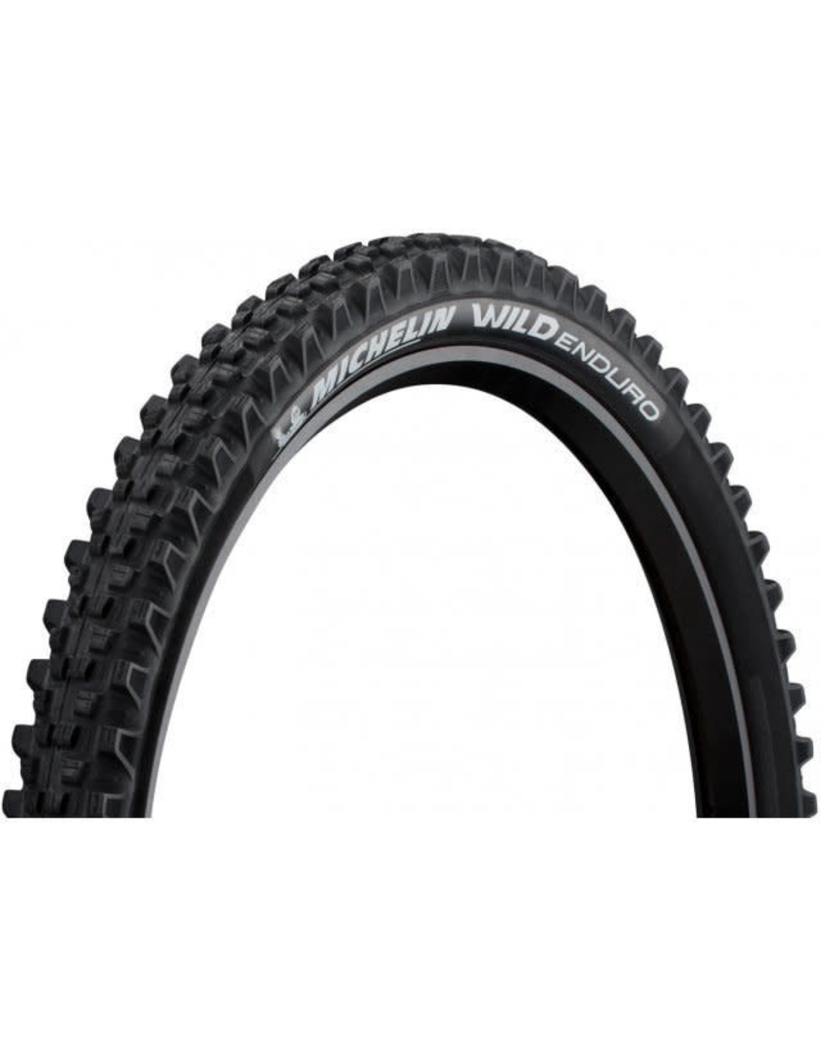Michelin 27.5x2.4 Michelin Wild Enduro Rear Tire Fold, TR, GUM-X, GravityShield, 60TPI, Black