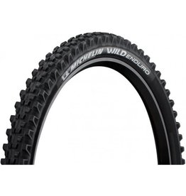 Michelin Michelin, Wild Enduro Rear, Tire, 27.5''x2.40, Folding, Tubeless Ready, GUM-X, GravityShield, 60TPI, Black