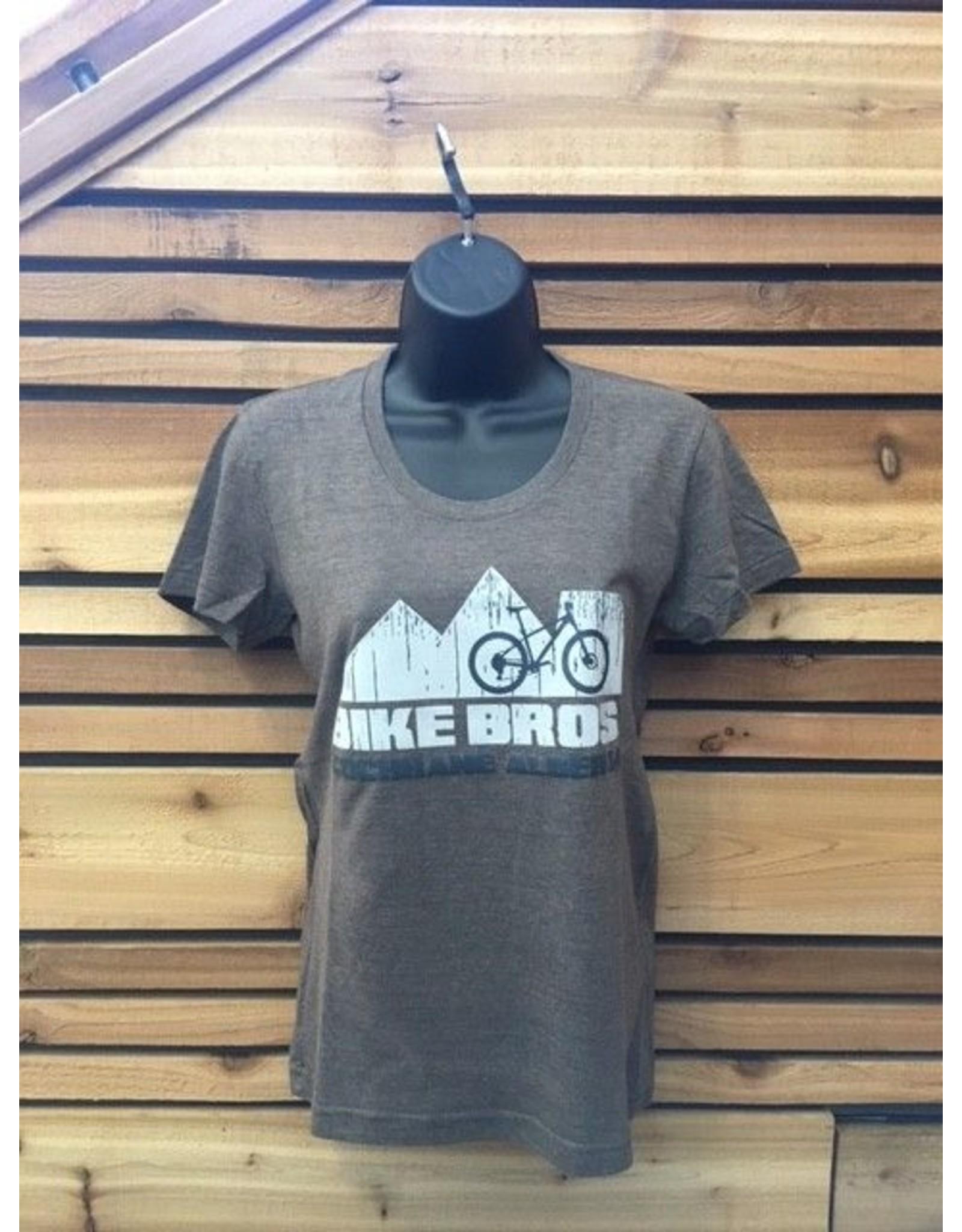 Bike Bros. Mountain Bike with mountains T Shirt Bike Bros