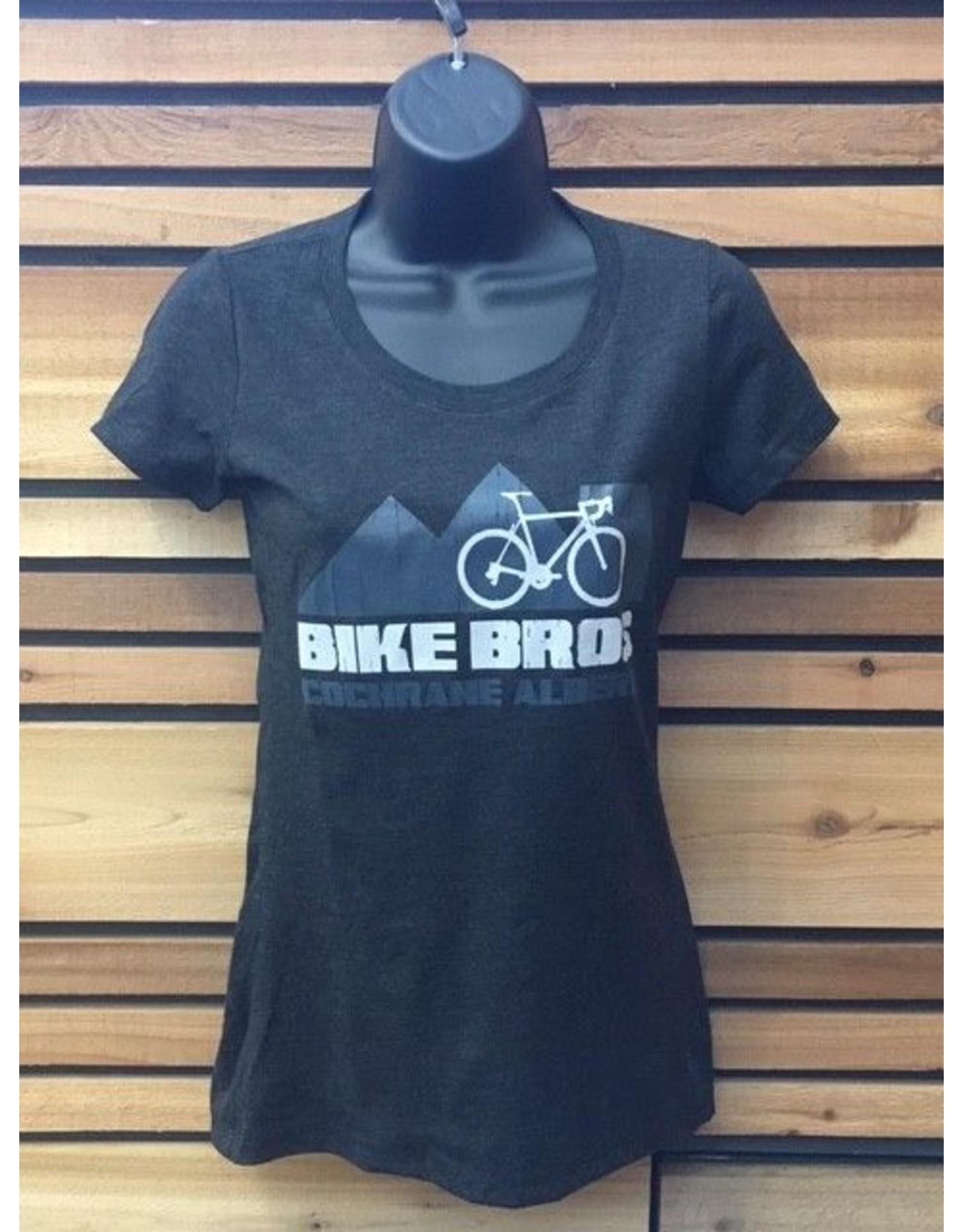 Bike Bros. Road Bike with mountains T Shirt Bike Bros
