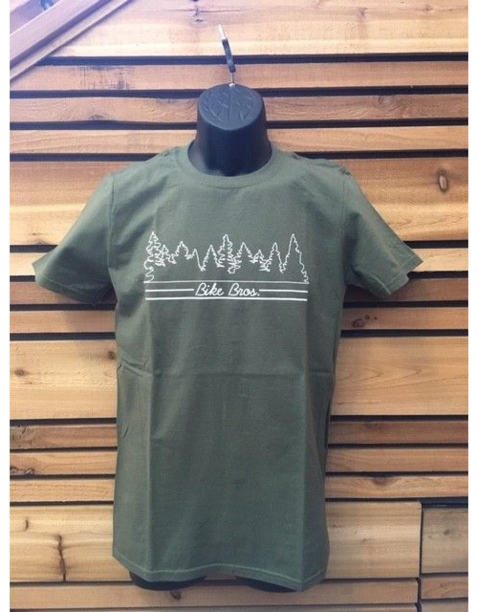Bike Bros. Bike Bros 9 Trees 1 Shrub T-Shirt