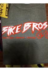 Bike Bros. Bike Bros Baseball T-shirt