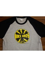Bike Bros. Bike Bros Baseball T-shirt