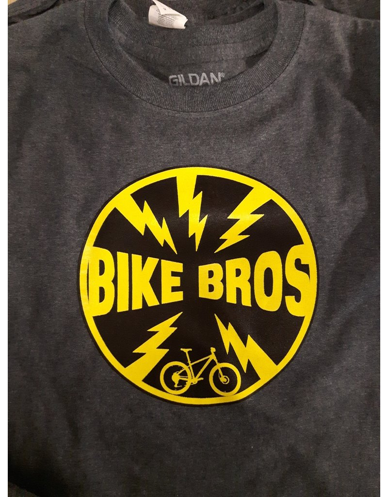 Bike Bros. Bike Bros Bolt T-shirt Youth dark grey heather