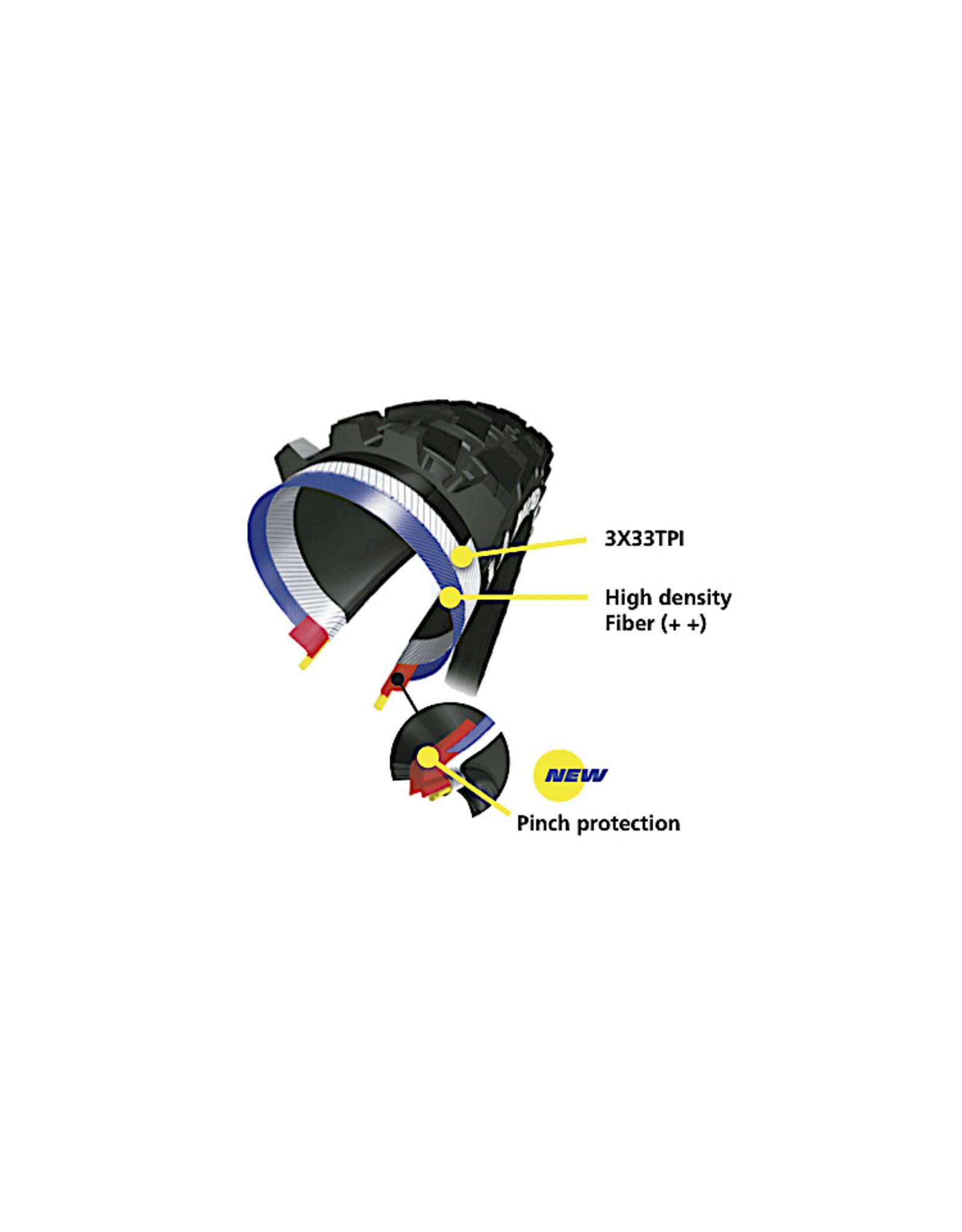 Michelin 27.5x2.4 Wild Enduro Front Tire Fold TR MAGI-X, GravityShield, 60TPI, Black