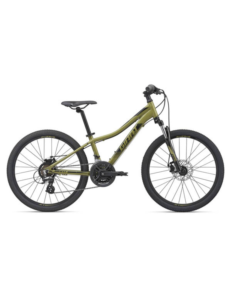 GIANT BICYCLES 2020 XtC Jr 24 Disc Olive Green OSFM