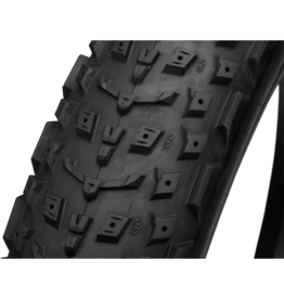 45NRTH 27.5x4.5 Dillinger 5 45NRTH Tire, TR, Folding, Black, 120tpi, Studdable