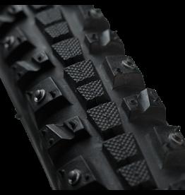 45NRTH 700x30 Xerxes 45NRTH, Clincher, Steel, Black, 33tpi, 140 Carbide Steel Studs Tire