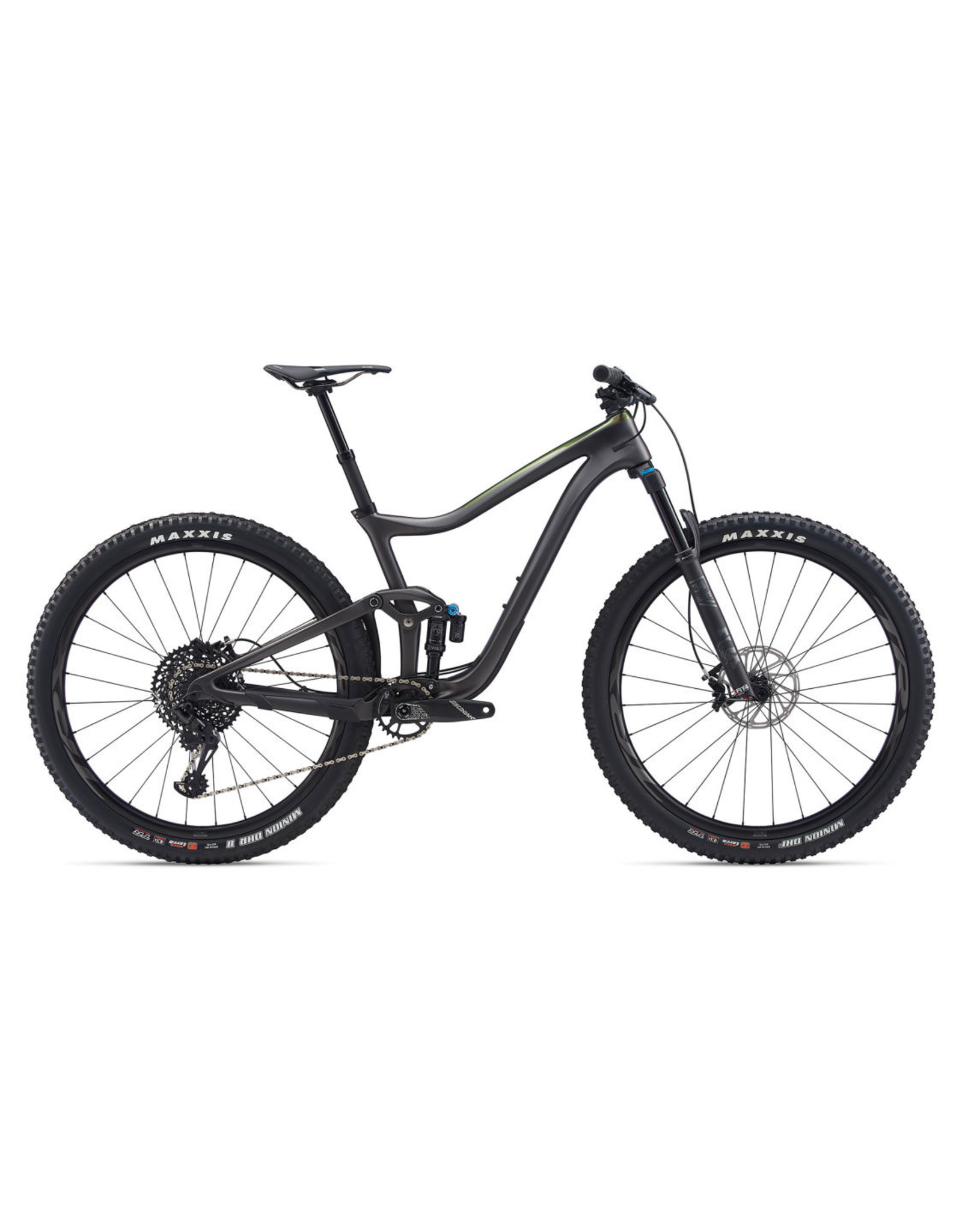 GIANT BICYCLES 2020 Trance Adv Pro 29 1 Met Black