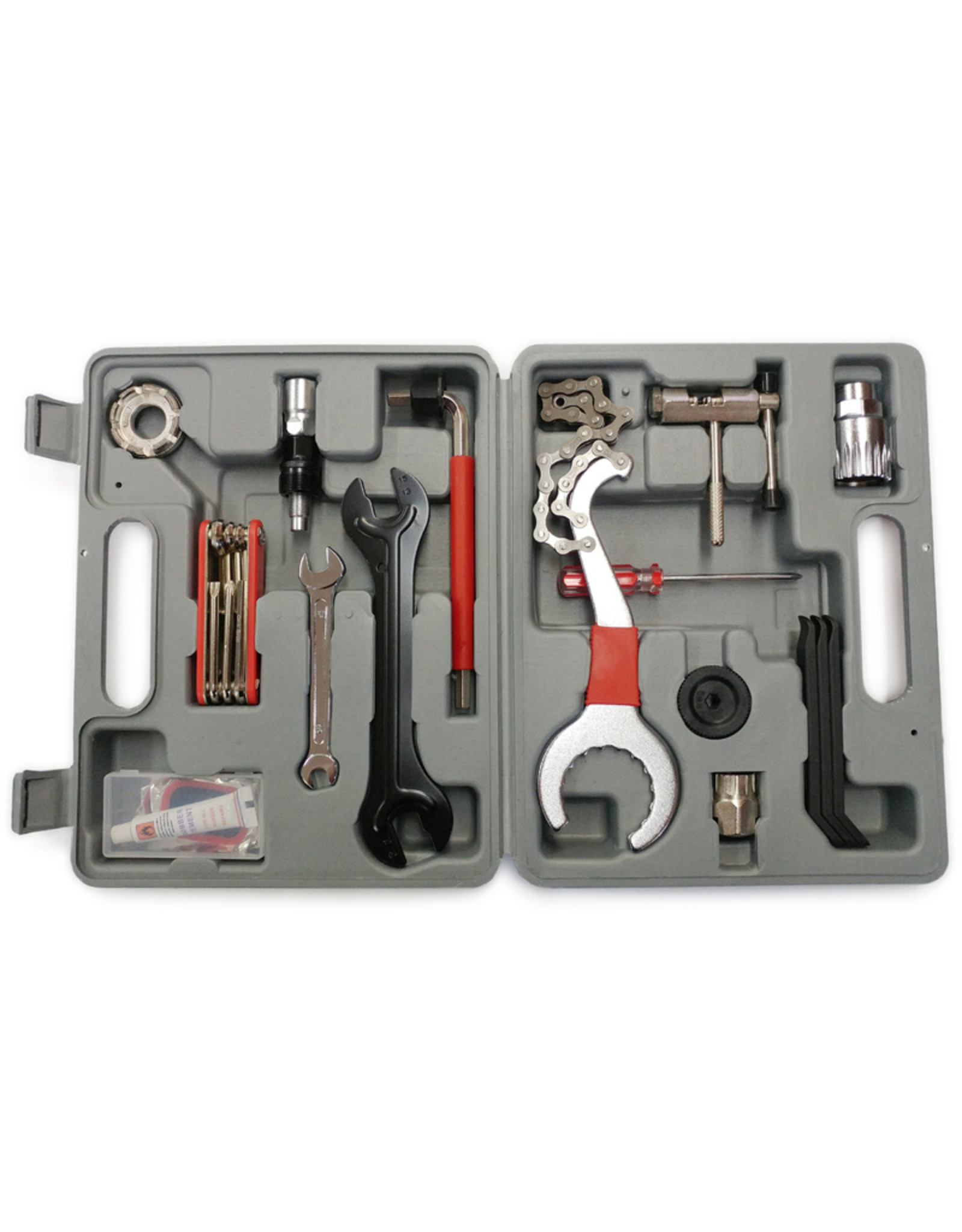 15 Pcs Bicycle Tool Set Damco