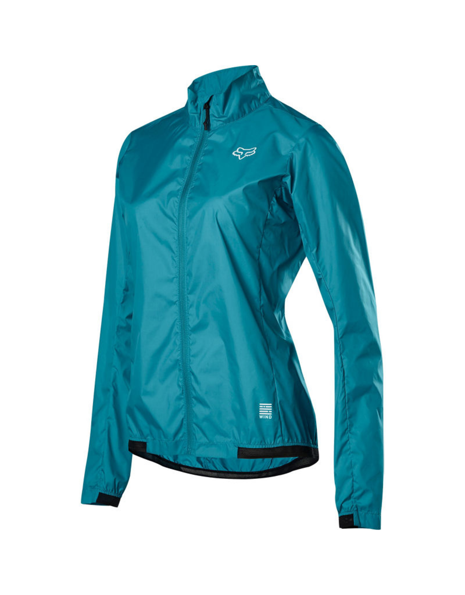 FOX HEAD CLOTHING WMNS DEFEND WIND JACKET AQUA (Reg price $99.95)