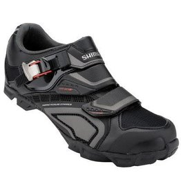 SHIMANO Men's SH-M162L MTB Shoe Black 43