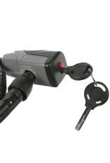 "Evo EVO, Lockdown, Armored cable, Key, 18mm, 100cm, 39"", Black"