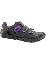 Liv Women's LIV Valora 39 Shoe Black/Purple (Reg $299)