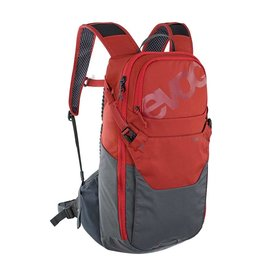 EVOC EVOC, Ride 12 Hydration Bag, 12L, bladder not inc., Chili Red/Carbon Grey