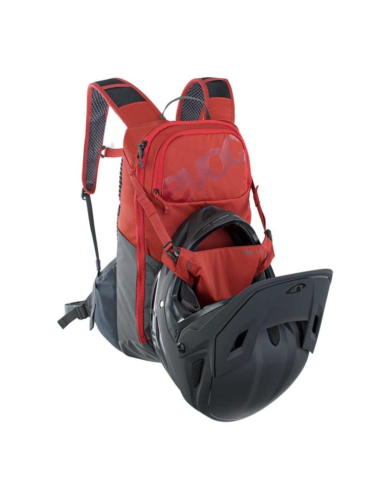 EVOC EVOC, Ride 12 Hydration Bag, 12L, bladder not inc., Chili Red/Carbon Grey