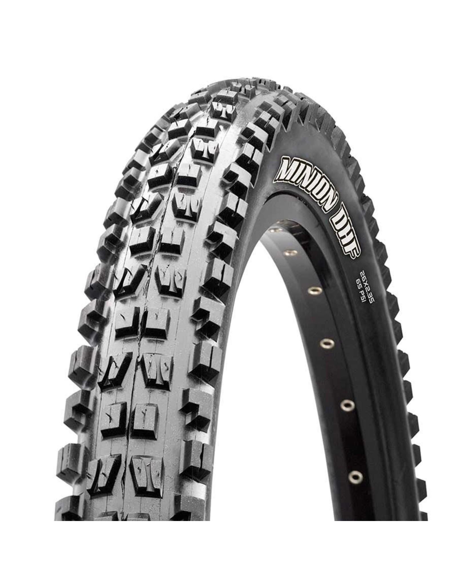 Maxxis 29x2.50 Minion DHF, Fold, TR, 3C Maxx Grip, Double Down, Wide Trail, 120x2TPI, Black