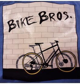 Bike Bros. The Wall - Baseball 3/4 Sleeve - Bike Bros Shirt