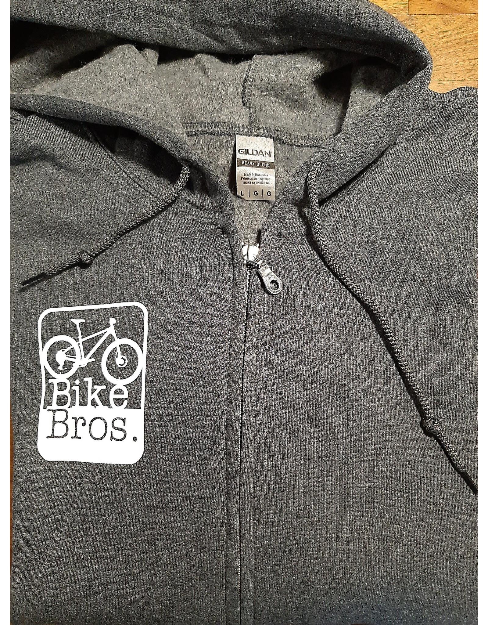 Bike Bros. Rectangle Logo - Bike Bros. Shirt Hoody Zip