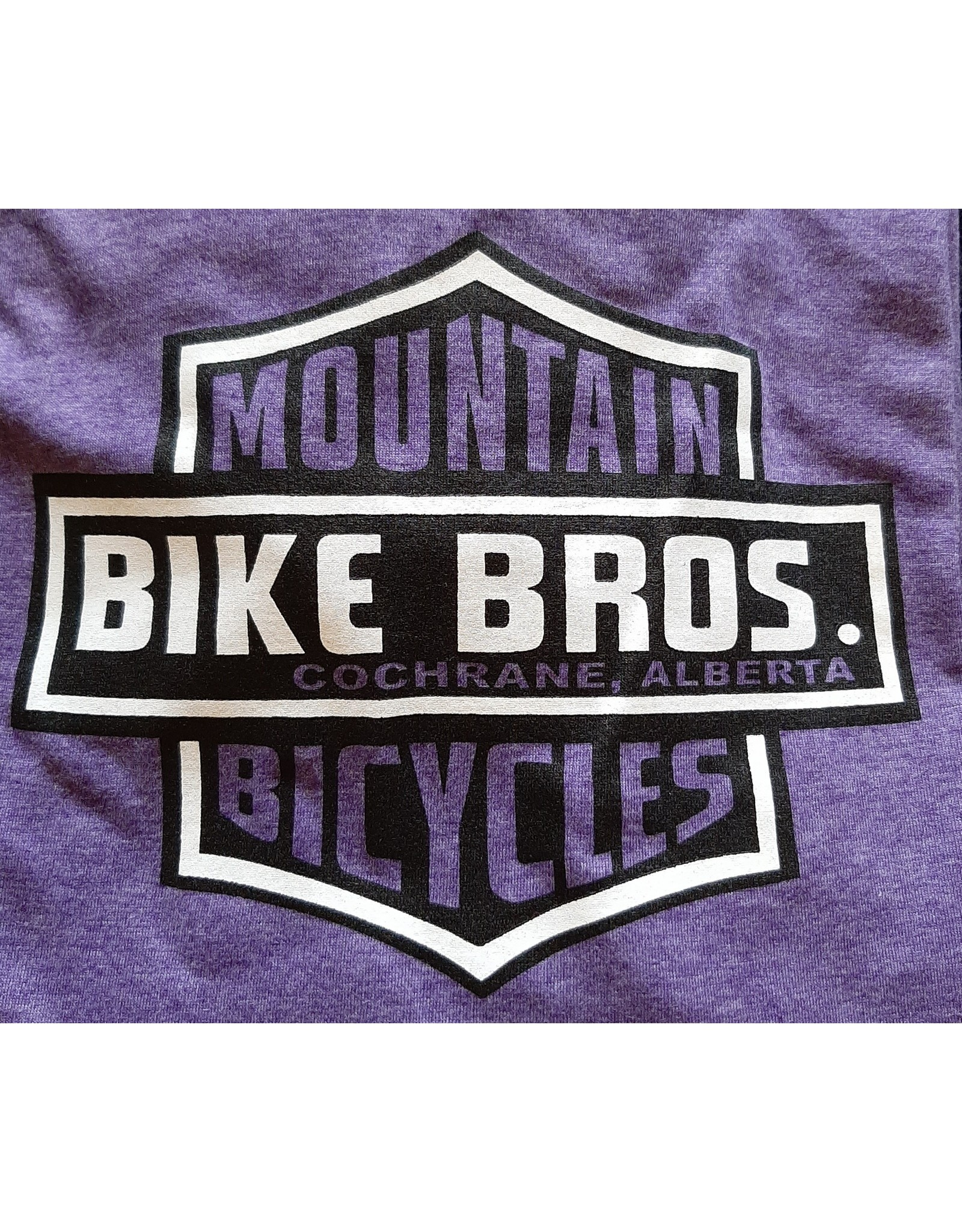 Bike Bros. Kinda Crest - Baseball 3/4 Sleeve - Bike Bros Shirt